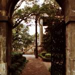 """Randolph Hall Gate View"" by PadgettGallery"