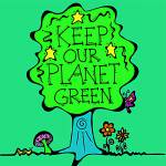 """""""Green Planet"""" by TurtleDoveCreations"""