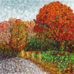 """Impressionist Painting of Autumn"" by TheIcePixy"