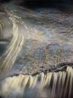 Water abstraction, American River, Sierra Nevadas