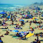 """Huntington Beach - Tilt-Shift 1"" by macabrephotographer"