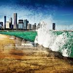 """Chicago splash"" by JohnWardell"