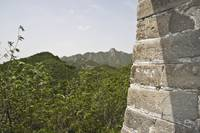 Window to Great Wall of China