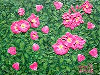 Rose Petal Fantasy Painting