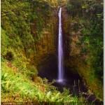 """442 ft tall water falls"" by Debasis"