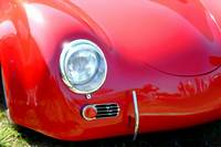 Red Porsche Speedster