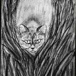 """Cat"" by Sari-Art"