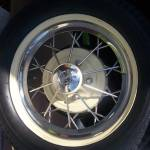 """Vintage Ford Wheel"" by georgegadsonstudios"