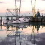 """Reflection of a Shrimp Boat"" by Hansen"