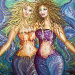 """1MERMAIDS"" by CarrieMaliaBudlong"