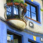 """HUNDERTWASSER HAUS"" by thelook"