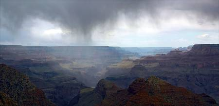 Storm At the Canyon