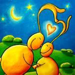 """BunnyLoveNoseRub"" by llo"