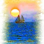 """Sunset Sail"" by glink"