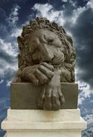 MHowarth_Lion_Sculptor_Stormy_Sky