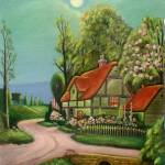 """""""English Cottage"""" by marty528"""