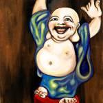 """Happy Buddah"" by artofheather"