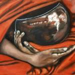 """Tibetan Singing Bowl"" by artofheather"