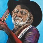 """Willie Nelson"" by artofheather"