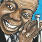 """Louis Armstrong"" by artofheather"