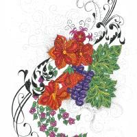 floral fantasy 2 Art Prints & Posters by Nevan Fitzpatrick