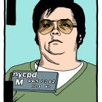 """Mark David Chapman"" by mariozuccaillustration"