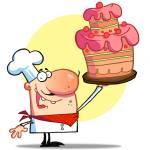 """""""Shef with cake"""" by ChudTsankov"""