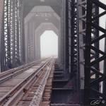 """Rail Road Bridge"" by RHMiller"