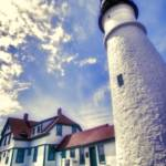 """Portland Head Light--Up Close"" by DigiPix"