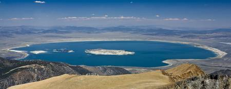 Mono Lake from Mount Dana Summit, Yosemite Nationa