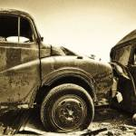 """Wreckage in Sepia"" by jahrock91"