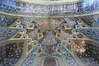 Persian art: Imam-zade Mahrogh's ceiling