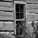 """Log Cabin Window"" by JoannHansen"