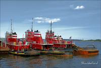 Three Tugs