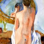 """Glass Menagerie, Nude Female Art"" by schulmanart"