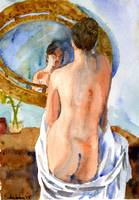Glass Menagerie, Nude Female Art