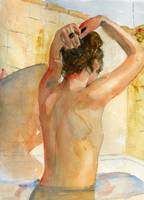 Nude Female Art, The Bather