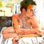 """Joe, Male Nude Art"" by schulmanart"