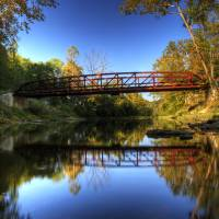 Rothrock's Mill Bridge Art Prints & Posters by Steven Berry
