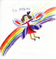' To Mum, Rainbow Fairy'