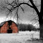 """Winter Barn"" by kraney"