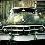 """Rusty Old Caddy - One Eyeball"" by 45Caliber"