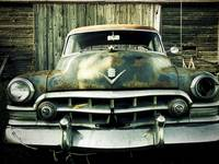 Rusty Old Caddy - One Eyeball