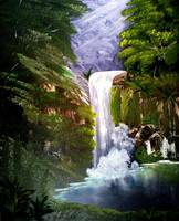 Dancing Waterfall