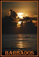 sunriseboat BARBADOS POSTER border