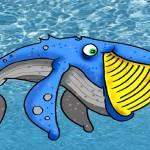 """whale"" by GeorgeFuchs"