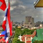 """Flags_over_Bangkok_1920x1200"" by michaelgrabowski"