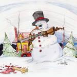 """frosty the hitman"" by GeorgeFuchs"