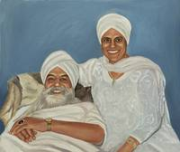 Yogi Bhajan and Bibiji