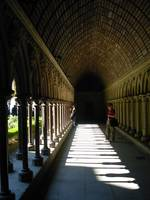 cloister at mont st michel